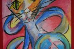 Katze_abstrakt