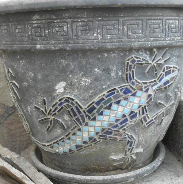 Mosaik Eidechsen