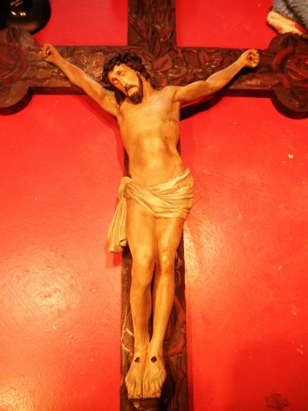 der restaurierte Jesus
