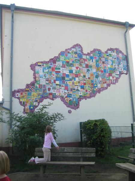fliesenwand_Schulprojekt